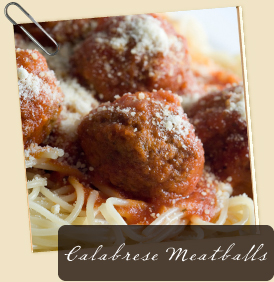 Calabrese Meatballs