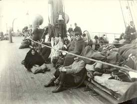 Immigrants in Steerage Class